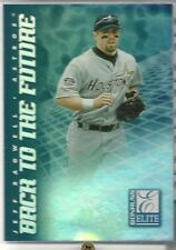 1998 Donruss Elite Back to the Future #2, Jeff Bagwell & Todd Helton. 0427/1500