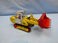 Vintage Corgi Major JCB 110B Crawler Loader Digger Excavator Driver Figure Toy