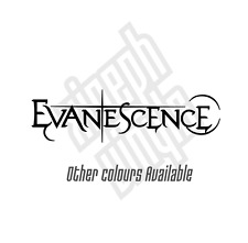 Evanescence vinyl sticker decal amy lee tour ipad laptop car (Window optional)