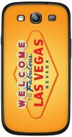 Cellet Welcome to Las Vegas Skin for Samsung Galaxy S3 - Orange