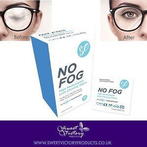 No Fog Glasses Lens Cleaning Wipes Anti Fog Mist Optical Sunglasses Face Mask UK