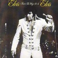 Elvis Presley : That's the Way It Is CD (2003) ***NEW*** FREE Shipping, Save £s