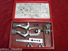 Vintage Blue Point Double Flaring Brake Line Tool Kit TF-528-D