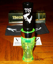 TIM GROUNDS TRIPLE CROWN GOOSE CALL CHARTREUSE&BLACK NEW!