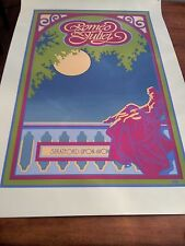 Romeo and Juliet David Byrd poster.Gorgeous color.