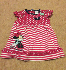 Disney Casual Striped Dresses (0-24 Months) for Girls