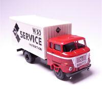 H0 BUSCH IFA W 50 L/MK W 50 IFA Service Instruction Speditionskabine DDR # 95175