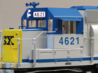 LIONEL CSX LEGACY SCALE SD40 DIESEL ENGINE #4621 O GAUGE train SD-40 6-84261 NEW