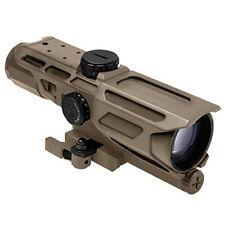 NcStar Gen3 Fde 3-9X40 Illuminated P4 Sniper Mark Iii Qr Tactical Rifle Scope