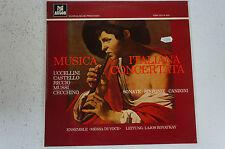 Musica Italiana Concertata Ensemble Messa di Voce Lajos Rovatkay (LP12)