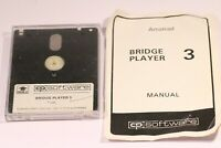 Rare Amstrad CPC 464 6128 Disk Game BRIDGE PLAYER 3  With Instructions