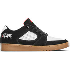 Es Skateboard Shoes Accel Slim Menikmati Black/White/Gum Mens