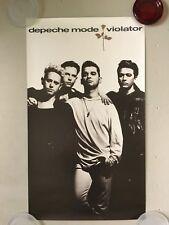 "Depeche Mode - Violator - 1990 promo poster - 21.5 x 35""- USA"