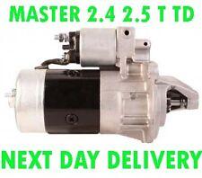 RENAULT MASTER 2.4 2.5 T TD 1980 1981 1982 1983 1984 > 1998 NEW STARTER MOTOR