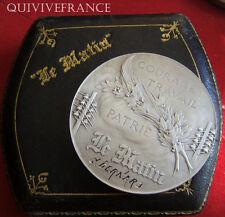MED3698 - MEDAILLE JOURNAL LE MATIN par RIBERON 1904 - ARGENT - FRENCH MEDAL