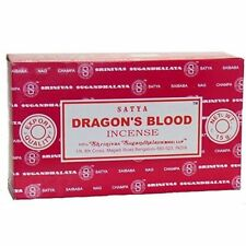 nag champa Satya Dragons blood 2018 incense 12 X 15gm Bulk pack