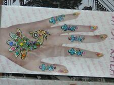 LOT 11 planches de bijoux bindi pour les mains
