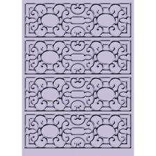 CUTTLEBUG ~ Mary Ann ~ Embossing Folder 5X7 Ornate Background