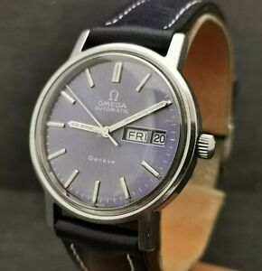 Gents Vintage Omega Geneve,  Automatic. Cal 1012. Stainless Steel.  Circa 1973