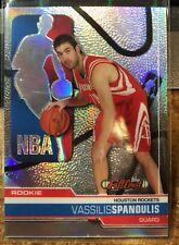 2006-07 Topps Full Court Chrome Rookie Refractors #131 Vassilis Spanoulis /199
