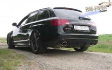 BN Pipes Audi RS6 4F Auspuffanlage ab Kat