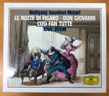 Mozart: Le nozze di Figaro, Don Giovanni, Cosi fan Tutte by Peter Lagger,...
