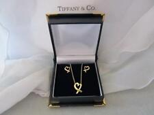 Tiffany & Co. Paloma Picasso 18K Yellow Gold Loving Heart Collection