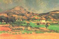 Cezanne Plain by Mont Sainte Victoire - Poster 24x36 inch