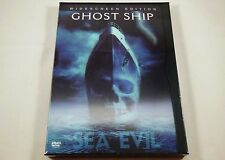 Ghost Ship DVD WITH LENTICULAR COVER Gabriel Byrne, Julianna Margulies