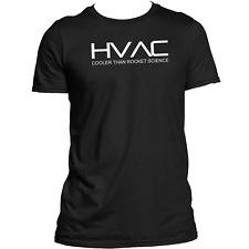 HVAC T Shirt Cooler Than Rocket Science Technician Occupation Job Tee Top Funny
