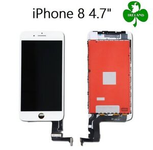For Apple iPhone 8 LCD Touch Screen Display Digitizer Glass Assembly Unit White