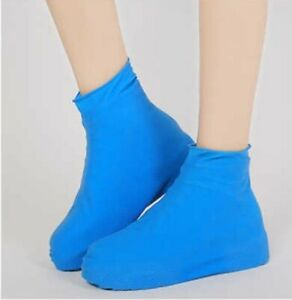 Silicone Overshoes Rain Waterproof Shoe Covers Boot Cover Protector Anti slip