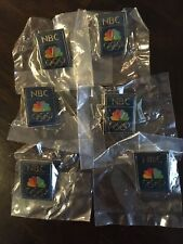 NBC Olympic Pins New In Package Lot of 6 Media
