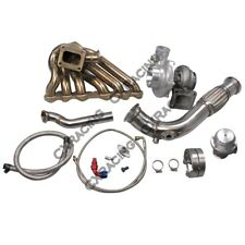 Turbo Manifold Downpipe Kit For Toyota Tacoma Truck 2JZ-GTE Swap 2JZGTE