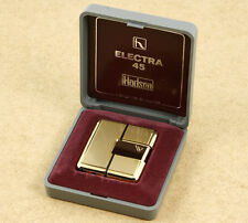Hadson Electra 45 Vintage Metallic Gas Lighter Japan New Old Stock NOT WORKING