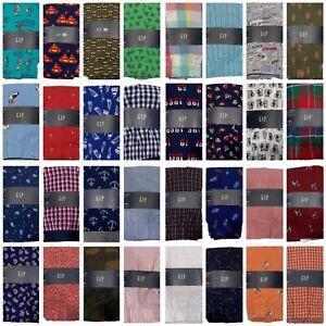 NWT GAP Men's Boxer Underwear Sz XS-S-M-L-XL-XXL Assorted Colors/Prints