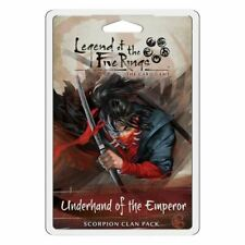LEGEND OF THE FIVE RINGS UNDERHAND OF THE EMPEROR SCORPION CLAN PACK CARD GAME