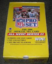1990 PRO NFL FOOTBALL CARDS SERIES II PREMIER EDITION SEALED BOX