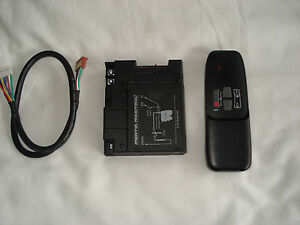 Mertik Maxitrol Remote Control Receiver G6R-R4AM Handset G6R-H4S  R/F Set