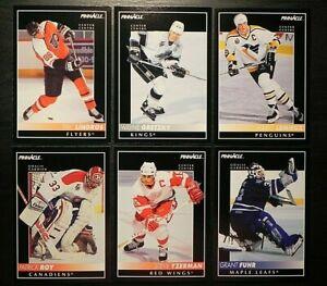 1992-93 92/93 Pinnacle French NHL Base Cards #1 - #250 Finish Your Set U Pick!