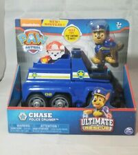 PAW Patrol Ultimate Rescue, Chase's Ultimate Rescue Police Cruiser with Lifting