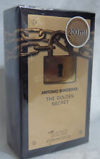 THE GOLDEN SECRET ANTONIO BANDERAS MEN COLOGNE 6.8 / 6.75 OZ 200 ML NIB SPRAY
