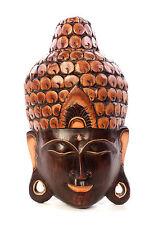 WOODEN THAI BUDDHA  WALL HANGING LARGE 40 CM HIGH FREE POSTAGE