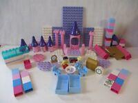 Lego Duplo Disney Princess Castle Building Toy Lot