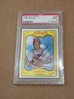 1981 Kellogg's Tom Seaver #38 PSA 9 Mint New York Mets HOF