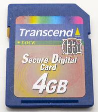 Transcend 4GB SDHC Karte 133X