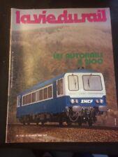 La vie du rail n°1730 du 17/02/1980 les autorails x2100