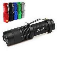 400LM Lamp XM-L Q5 LED Mini Flashlight Torch Zoomable Lamp Light 14500 3 Modes