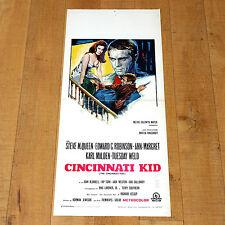 CINCINNATI KID locandina poster Steve McQueen Ann-Margret Karl Malden B14