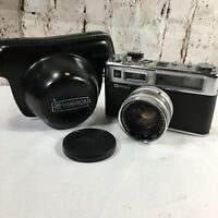 Yashica Electro 35 GSN Rangefinder Film Camera w/ Cap and Case Made in Japan